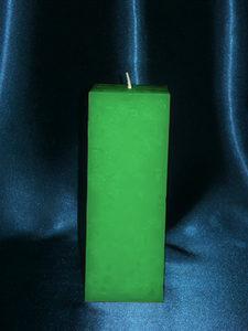Зеленая астральная свеча