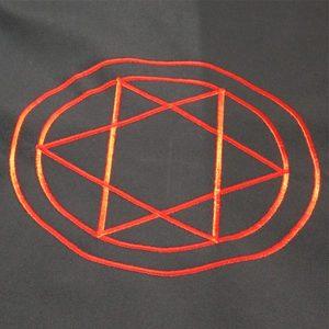 Алтарное покрывало «Гексаграмма в круге» Magic-Kniga фото