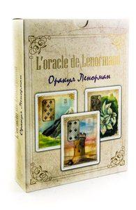 Оракул Цветов Мадам Ленорман Книга + 38 карт