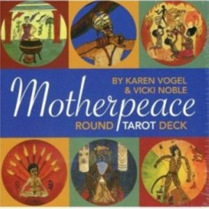 Круглое Таро Матери Мира (Таро Женского Начала) Motherpeace Tarot