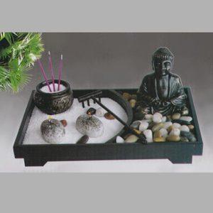 Набор Садик Дзен Будда, h=18 см, камень