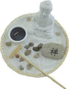 Набор Садик Дзен Будда, h=19 см, камень