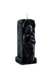Свеча Ангел скорби черная фото
