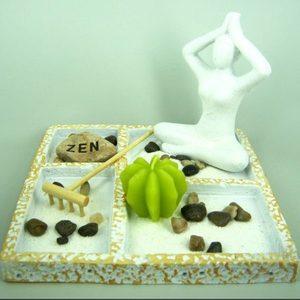 Набор Садик Дзен Медитация, 19х19 см, искусственный камень
