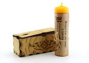Свеча-ритуал для молодости и красоты
