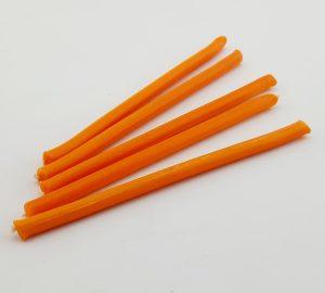 Оранжевые часовые свечи 5 шт