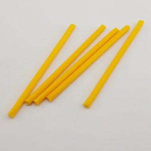 Желтые часовые свечи 5 шт