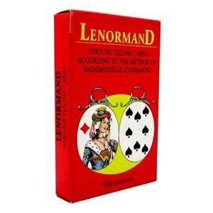 Lenormand Fortune Telling Cards Предсказательные карты мадемуазель Ленорман