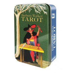 Карты Barbara Walker Tarot in a Tin (Барбара Уолкер Таро) в жестяной коробке