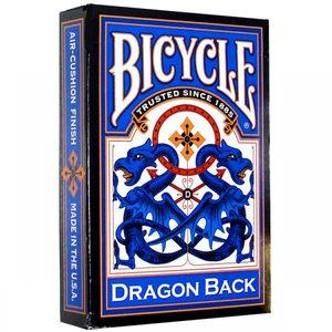 Карты Bicycle Dragon (синие)