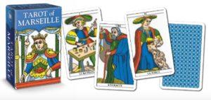 Tarot of Marseille. Мини таро Марсельское