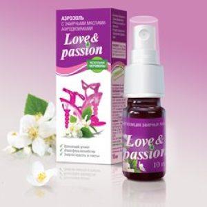 Love Passion женский аромат, эфирные масла - растительные феромоны