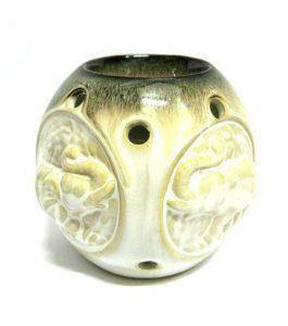Аромалампа ручная роспись керамика 9 см