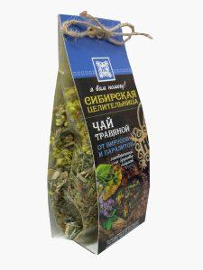 Чай травяной От вирусов и паразитов Сосновый бор + заговор внутри