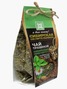 Чай травяной Сибирский иммунитет Живница + заговор внутри