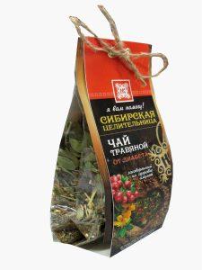 Чай травяной От диабета Охотничье зимовье №1 + заговор внутри