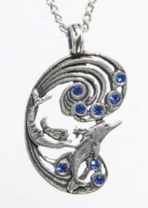 Магическая подвеска Mermaid and Dolphin