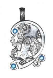 Магическая подвеска Owl