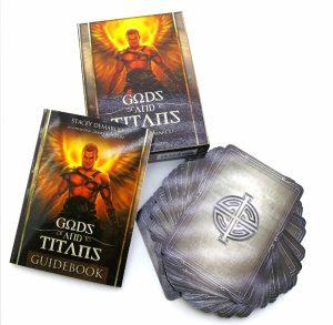 Gods and Titans Oracle. Комплект: книга и карты