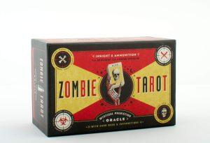 The Zombie Tarot. Комплект: книга и карты