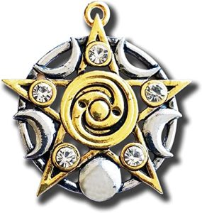 Магический кулон Star of Skellig For Spiritual Growth