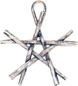 Магическая подвеска Pentagram of Wands (футляр)