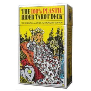 The 100% plastic Rider Tarot deck