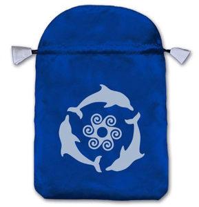 Мешочек для карт Таро «Дельфины» фото