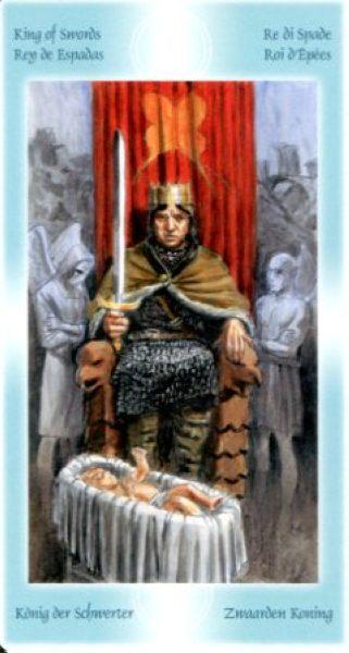 7 мечей король мечей таро