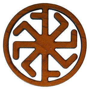 Оберег на магните «Крест Лады . Колядник» фото