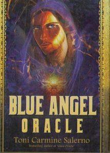 Оракул Синий Ангел позолоченный