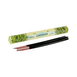 Благовония SARATHI Лимонник (Lemongrass) шестигранник 20 палочек фото