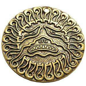 Амулет-подвескa «Митрас, Митра - бог Солнца» (латунь)