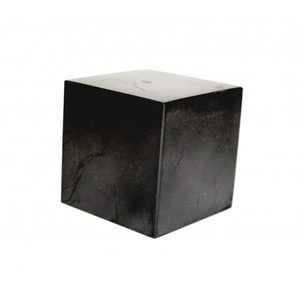 Куб из шунгита неполированный 6 см фото