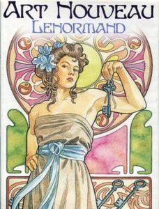 Art Nouveau Lenormand Oracle. Оракул Арт-Нуво Ленорман