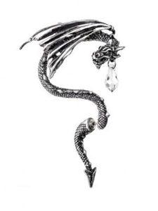 Магическая серьга Crystal Dragon Ear Wrap