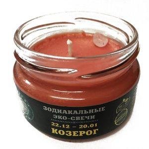 Эко-свеча Козерог, 7х5 см фото