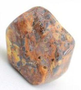 Алтарный камень Яшма леопардовая