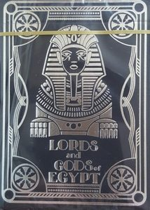 Карты игральные сувенирные Lords and Gods of Egypt