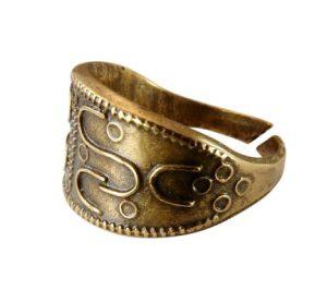 Древнерусский перстень (латунь) фото