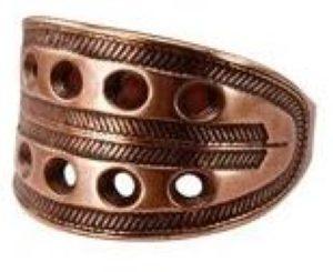 Новгородский решетчатый перстень (медь) фото