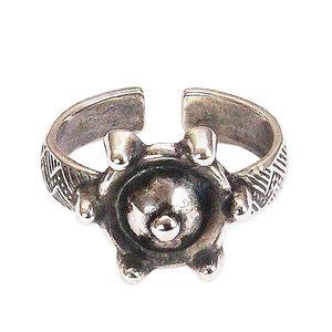 Перстень «Руса» (посеребрение) фото