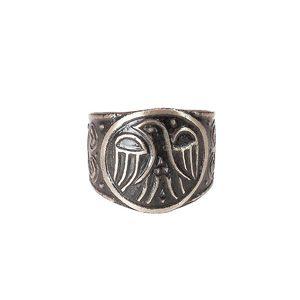 Кольцо «Сокол» (мельхиор) фото