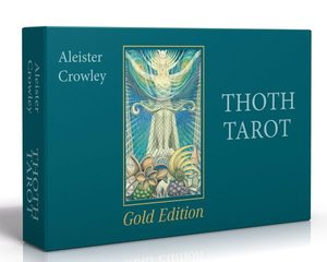 Aleister Crowley Thoth Tarot Gold Edition фото