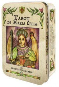 Карты Tarot cards De Maria Celia в жестяной коробк...