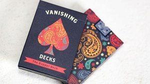 Игральные карты Dapper (синие) - USPCC, Vanishing Inc