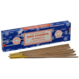 Благовония Satya Наг чампа (Nag Champa), прямоугольная упаковка, 15 гр
