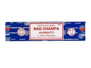 Благовония Satya Наг Чампа (Nag Champa), прямоугольная упаковка, 40 г