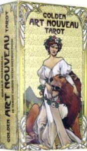 Golden Art Nouveau Tarot. Золотое Таро Арт-Нуво фото