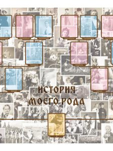 Матрица для работы с картами История моего Рода